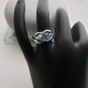 Jewelry - SS Blue Topaz Ring